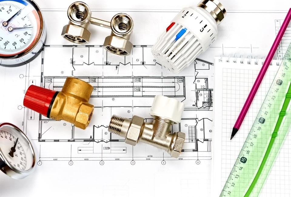 Nyproduktion ritningar – totalentreprenad VVS – JTS Rörservice