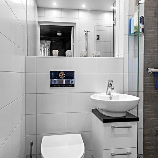 JTS Rörservice renoverar badrum i Nacka – wc med dusch