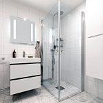 JTS Rörservice renoverar badrum i Stockholm – Badrum med dusch